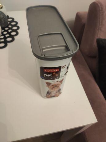 Pojemnik na karmę dla psa