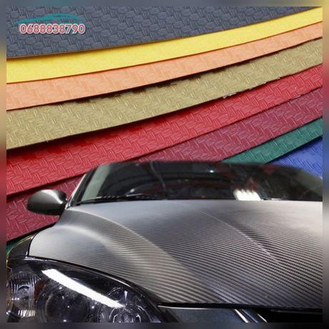 Карбоновая плёнка 3D все цвета 3Д карбон все виды Автовинил Алькантара