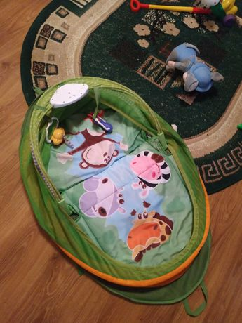Развивающий коврик « чикко»для малыша джунгли с мелодиями