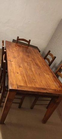Vendo mesa madeira maciça