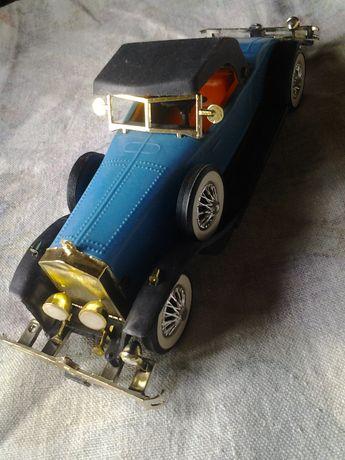 Rolls Royce zabawka prl model duży plastikowy