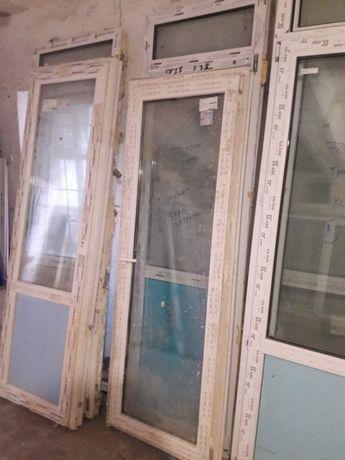 Балконные двери с новостроя разных размеров, не дорого !