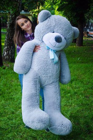 Мишка большой мягкий плюшевый медведь на подарок девушке мишка
