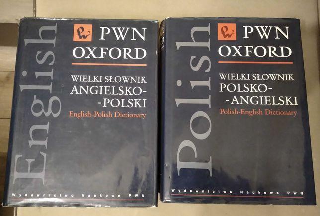 PWN Wielki Slownik angielsko-polski i polsko angielski Oxford