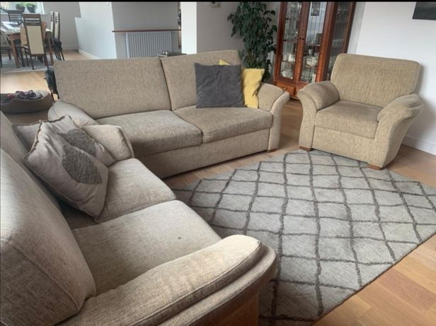 Wypoczynek sofa kanapa rozkładany 3+2+1