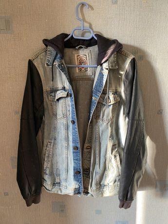 Джинсовпя куртка (бомбер) Pull&bear