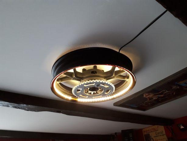 Felga oświetleniowa led żyrandol oświetlenie lampka plafon lampa motor