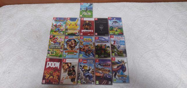 Jogos para a Nintendo Switch, Mario, Pokemon, Lego, Donkey Long