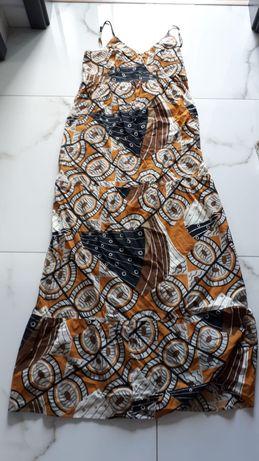 Sukienka maxi długa przewiewna lato Camieu