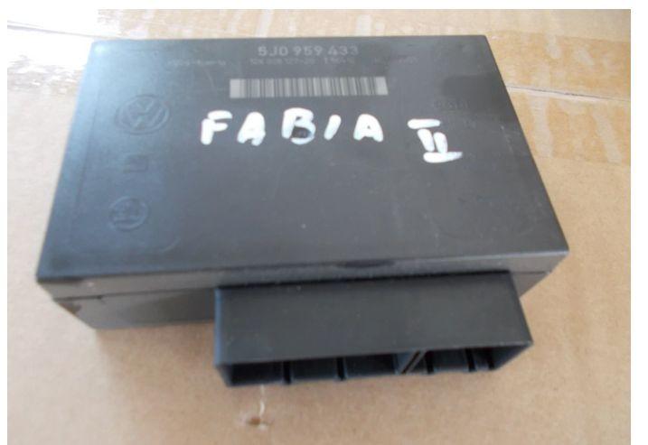 SKODA FABIA II moduł komfortu