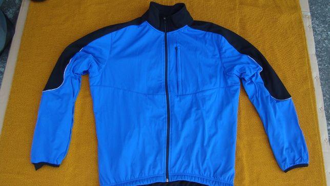 kurtka/bluza rowerowa Carne -roz L- klatka do 120 cm/72 cm-dł-Super