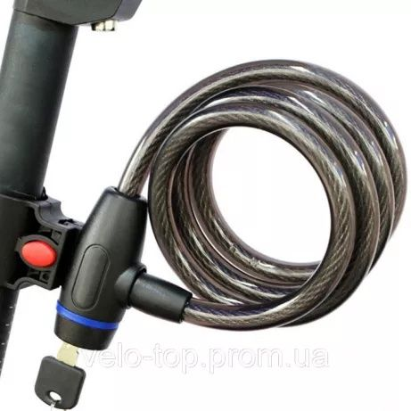 Трос запорный велосипедный Jacro