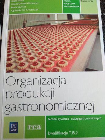 Organizacji produkcji gastronomicznej