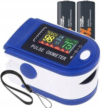 HIT! Pulsometr medyczny pulsometr na palec pulsoksymetr