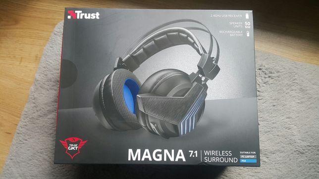 Słuchawki bezprzewodowe 7.1 Magna wriless surround PC Ps4 PlayStation