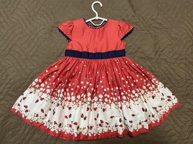 Красивое платье на девочку mothercare