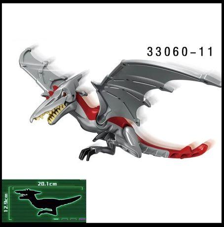 Pterodaktyl pteranodon dinozaur Park Jurajski Jurassic Park jak LEGO