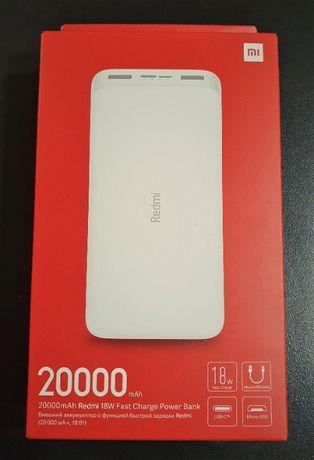Powerbank Xiaomi Redmi 20000mah biały