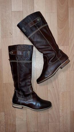 Фирменные кожаные демисезонные сапоги (ботинки)Timberland оригинал