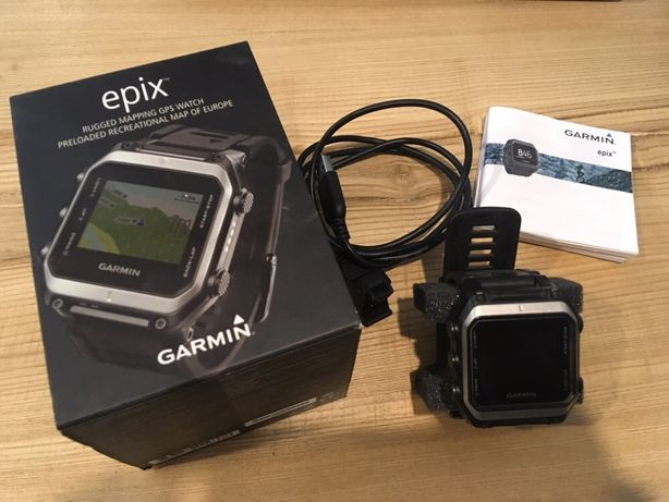 Garmin epix nawigacja w zegarku