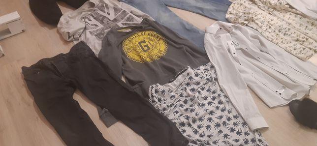 Paka meskich rzeczy l-xl modne