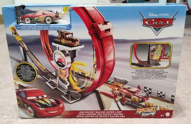 Rocket racing kolejka tor samochodowy cars disney