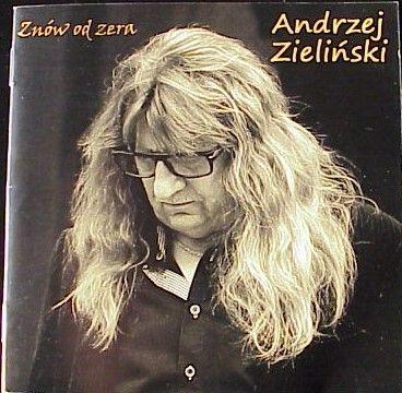 Andrzej Zieliński - Znów od zera. CD & DVD Skaldowie. Autograf Jacka