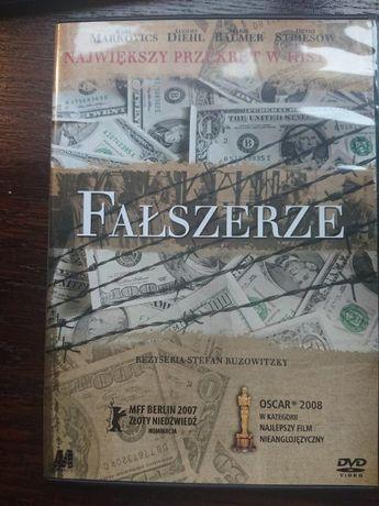 film FAŁSZERZE - nie jest łatwo sfałszować pieniądze na dvd
