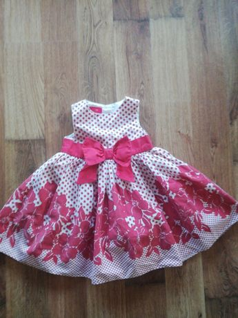 Sukienka dziewczęca rozmiar 9-12M tigerlily