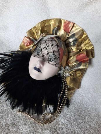Венецианская маска на стену, интерьерный декор