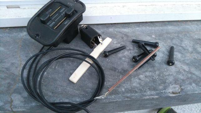 Preamp piezo pinos cavalete carrilhoes guitarra acústica