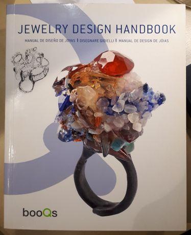 """Livro """"jewelry design handbook"""" em 4 Línguas"""