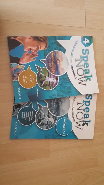 NOWY Speak Now 4 Communicate with Confidence Student's Book + Workbook