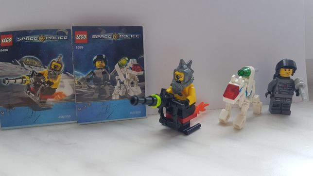 Lego Space Police 8399 + 8400, 2009 r. !!!