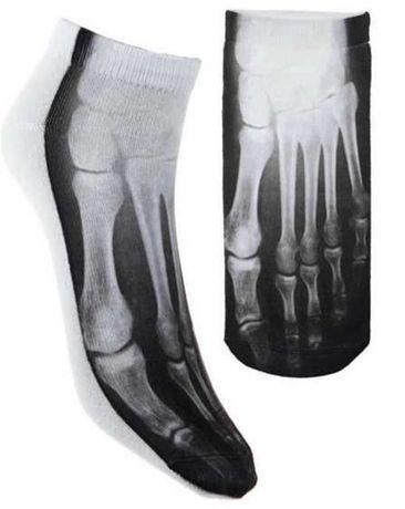 skarpetki stopki kości szkielet