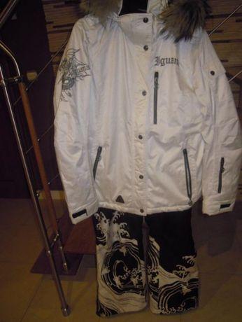 Kurtka narciarka IGUANA+ spodnie r 38 -40