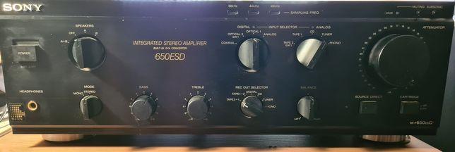 Amplificador Sony TA F 650 ES D