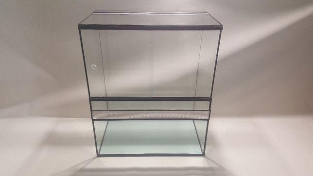 NOWE TERRARIUM 50x30x60 AquaWaves (gekon jaszczurka pająk wąż)