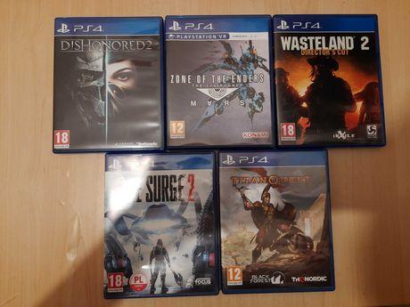 Wasteland 2 PL, Titan Quest PL , Surge 2 PL ps4