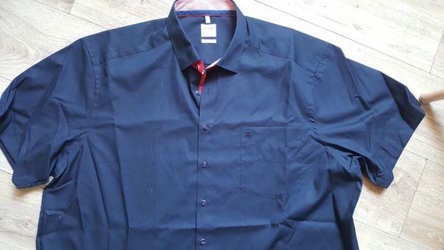 Olymp luxor-sliczna koszula granatowa nowa 47 comfort fit