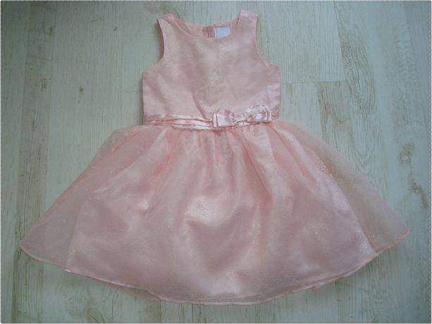 Prześliczna różowa sukieneczka Cool Club 140