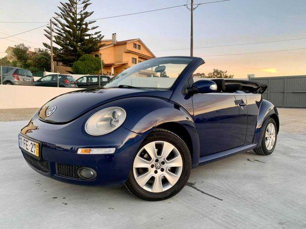 VW New Beetle Cabrio 1.4 16v GPS c/garantia - 133€ p/mês