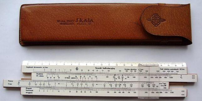 Suwak kalkulacyjny tokarz frezer szlifierz obróbka skrawaniem