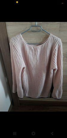 Swetr w kolorze  brudny róz