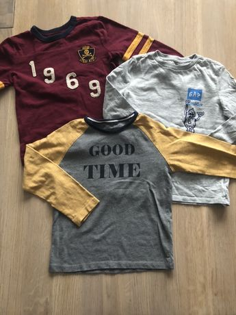 Super koszulki dla chłopca Gap, Massimo dutti