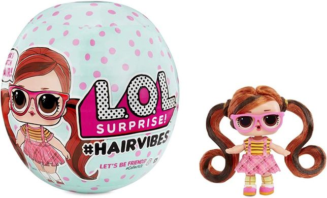 L.O.L. Surprise Hairvibes Dolls Series кукла с волосами 100% Оригинал