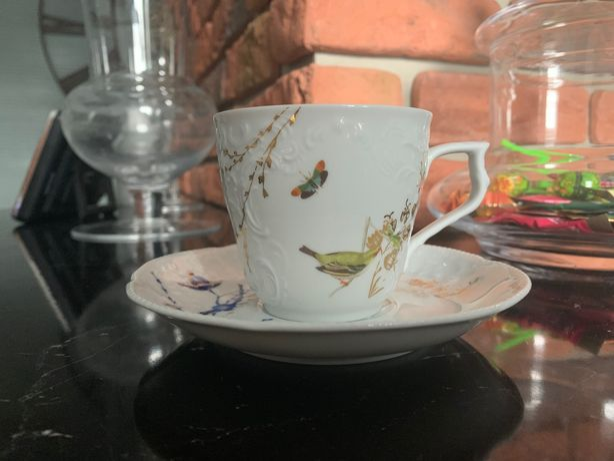Filiżanki Porcelanowe 2 szt