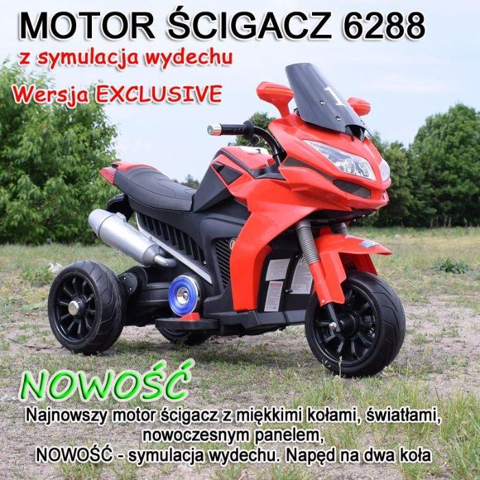 Super motor ścigacz na akumulator dla dzieci 3 kołowy Sandomierz - image 1