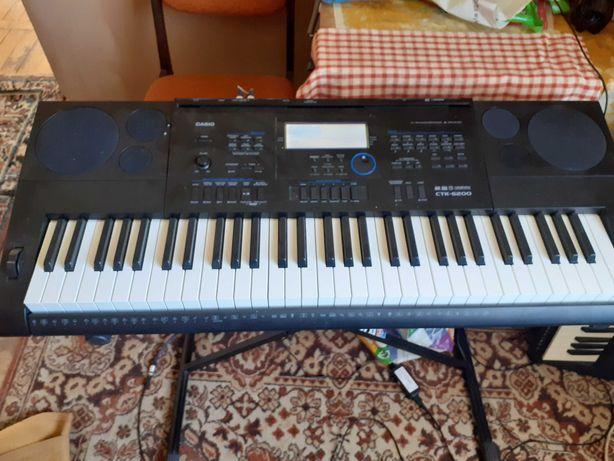 Sprzedam keyboard Casio CTK-6200