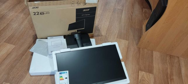 Монитор 22 Acer ET221Qbi IPS HDMI 1920x1080 4мс Flicker-Free Антиблик